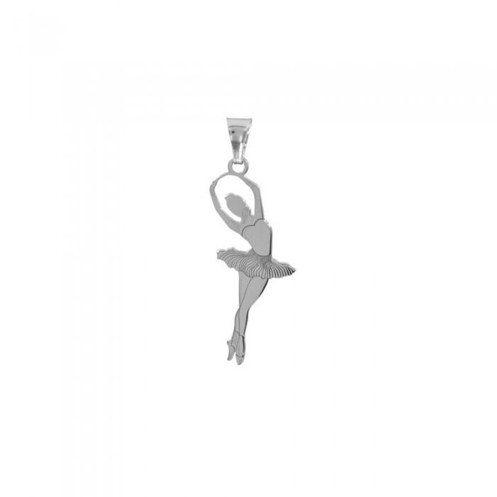 Pendentif danseuse sur pointe en argent 925/1000 rhodié 13,90€ 13,90€
