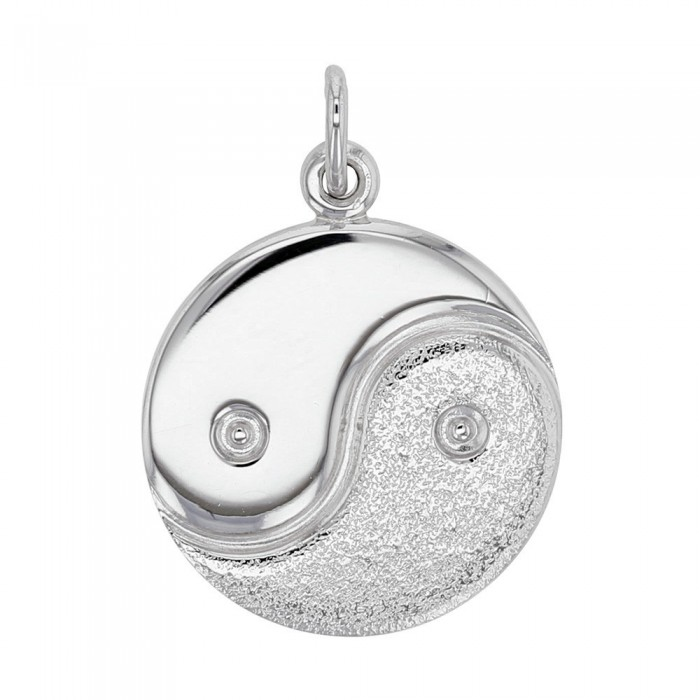 Yin and Yang pendant in rhodium silver 32,90 € 32,90 €