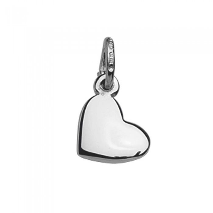 Pendentif petit cœur plein en Argent 925/1000 rhodié 10,90€ 10,90€