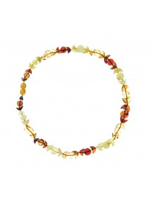 Necklace of amber stones in the shape of moons and round 317738 Nature d'Ambre 69,90 €