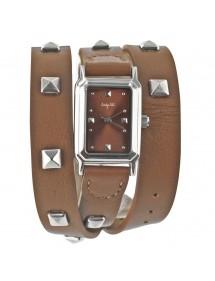 Montre élégance bracelet cuir Lady Lili - Marron 34,00€ 34,00€