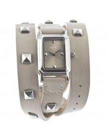 Montre élégance bracelet cuir Lady Lili - Beige 34,00€ 34,00€