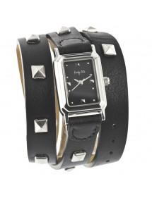 Montre élégance bracelet cuir Lady Lili - Noir 34,00€ 34,00€