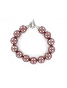 Bracelet en véritable perles de Majorque rouge 49,90€ 22,45€
