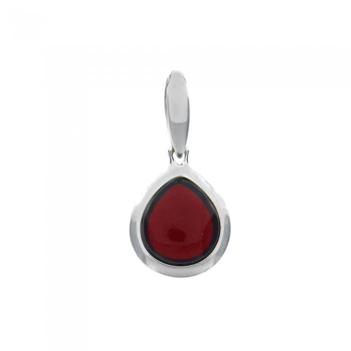 Pendant with amber stone surrounded by silver 3160743 Nature d'Ambre 59,90 €