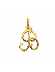 Gold plated pendant letter B 320087 Laval 1878 14,90 €