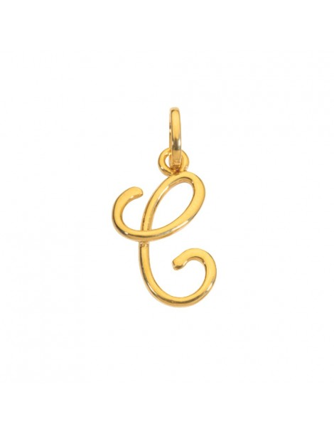 Gold plated pendant letter C 320088 Laval 1878 14,90 €