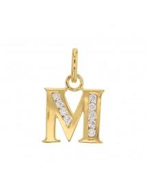 anfänglicher pendant ausplattiert und Zirkonoxide - Buchstabe M 3260213M Laval 1878 23,00€