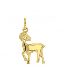 Gold Plated Zodiac Sign Pendant - Aries 3260200 Laval 1878 22,00 €