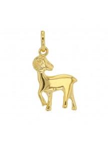 Pendentif signe du Zodiaque en plaqué or - Bélier 22,00€ 22,00€