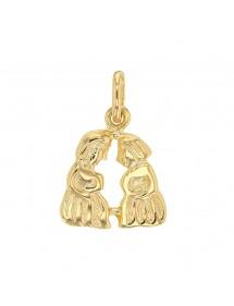 Pendentif signe du Zodiaque en plaqué or - Gémeaux 22,00€ 22,00€