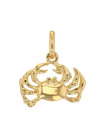 Gold Plated Zodiac Sign Pendant - Cancer 3260203 Laval 1878 22,00€