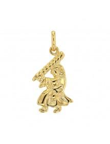 Pendentif signe du Zodiaque en plaqué or - Vierge 22,00€ 22,00€