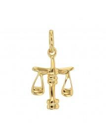 Pendentif signe du Zodiaque en plaqué or - Balance 22,00€ 22,00€