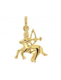 Pendentif signe du Zodiaque en plaqué or - Sagittaire 22,00€ 22,00€