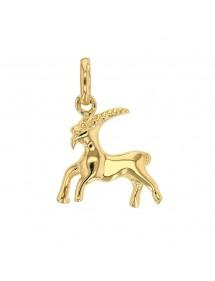 Pendentif signe du Zodiaque en plaqué or - Capricorne 22,00€ 22,00€