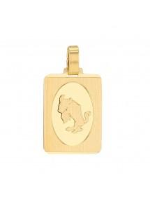 Pendentif rectangle du signe du Zodiaque plaqué or - Taureau 34,90€ 34,90€