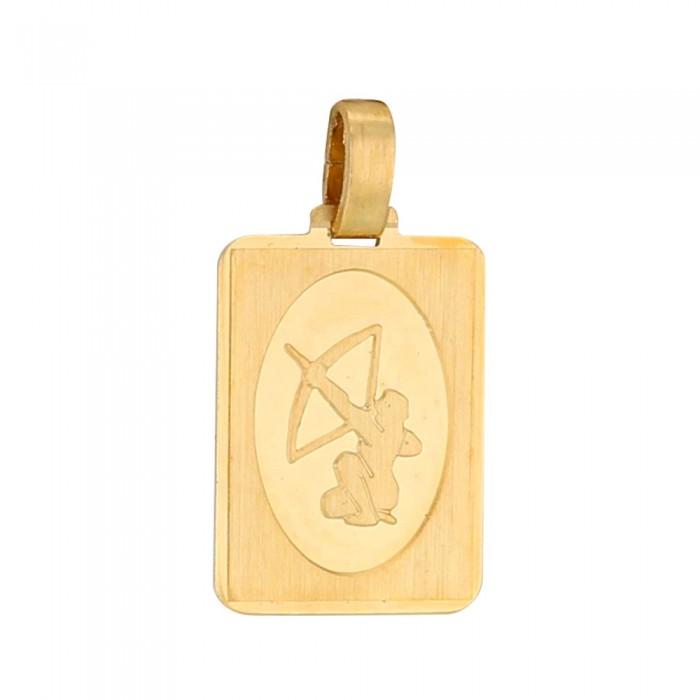 Pendentif rectangle du signe du Zodiaque plaqué or - Sagittaire 34,90€ 34,90€