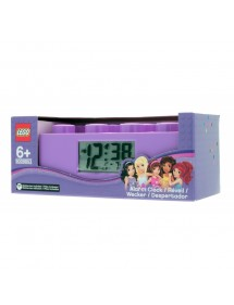 LEGO Friends brick clock -...
