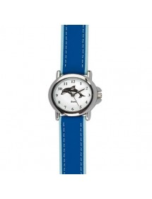 DOMI pedagogical watch with dolphin motif, blue synthetic bracelet 753894 DOMI 29,90 €