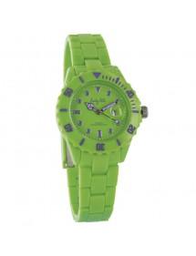 Montre femme très confortable boitier plastique Lady Lili - vert clair 24,90€ 24,90€