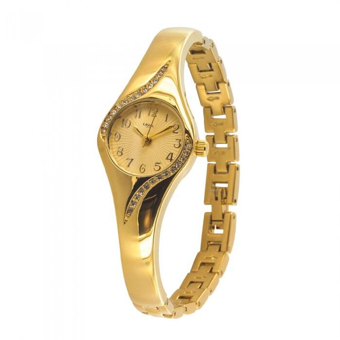 Round gilt round watch with synthetic stones LAVAL 1878 750855D Laval 1878 79,90€