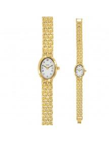Vergoldete Damenuhr mit ovalem Zifferblatt LAVAL 1878 750853D Laval 1878 89,90€