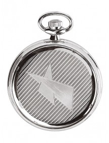 LAVAL pocket watch, chrome...