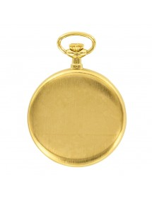 Gold badge pendant with 2...