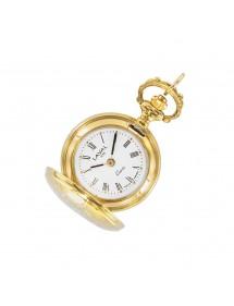Montre pendentif doré motif médaillon pour femme 755251 Laval 1878 129,00€