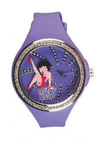 Montre pour femme orné de cristaux blancs Betty Boop - Violet 49,90€ 49,90€