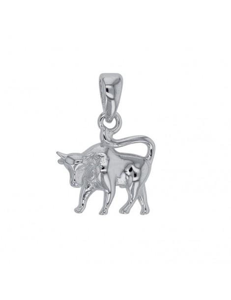 Pendant Taurus Zodiac rhodium silver 316270 Laval 1878 24,00€