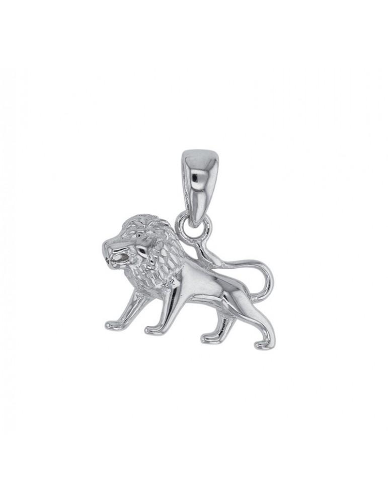 Pendentif signe du Zodiaque Lion en argent rhodié 316273 Laval 1878 24,00€