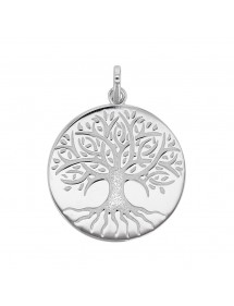 "Pendant ""tree of life"" engraved in rhodium silver 31610436 Laval 1878 59,90 €"