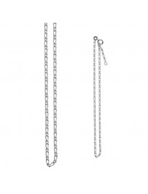 Single figaro anklet chain in sterling silver 311325 Laval 1878 19,90 €