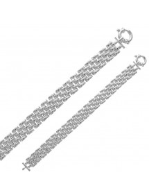 Beautiful and luxurious bracelet 5 rows in sterling silver 31812539 Laval 1878 269,00€