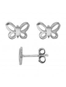 Earrings rhodium silver openwork butterfly 28,00 € 28,00 €