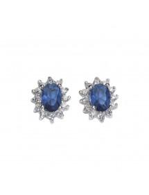 Ohrringe mit jeweled blau getönten Zirkonoxid 62,00€ 62,00€