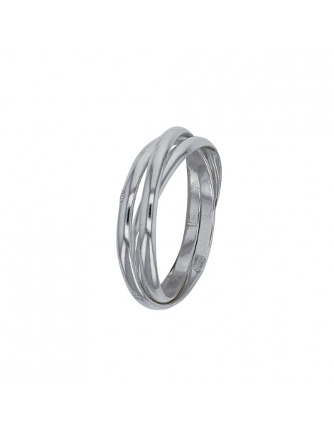 Alliance with triple intertwined rings in sterling silver 311027 Laval 1878 32,00€