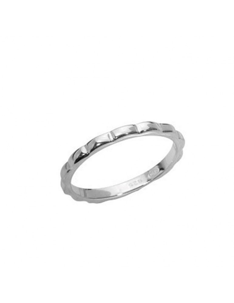 Alliance with fantasy motif in sterling silver 3111403 Laval 1878 28,90€