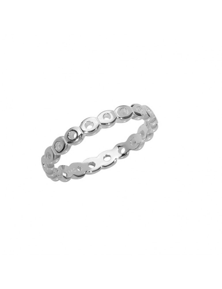 Fantasy wedding ring small round pattern in sterling silver 3111405 Laval 1878 29,90€