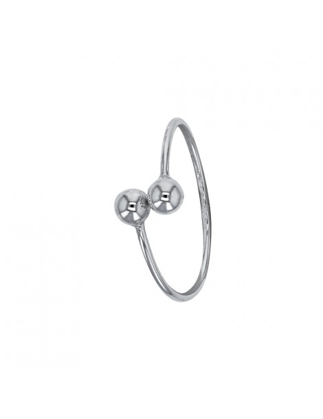 Sterling silver ring with 2 balls 311575 Laval 1878 22,00€