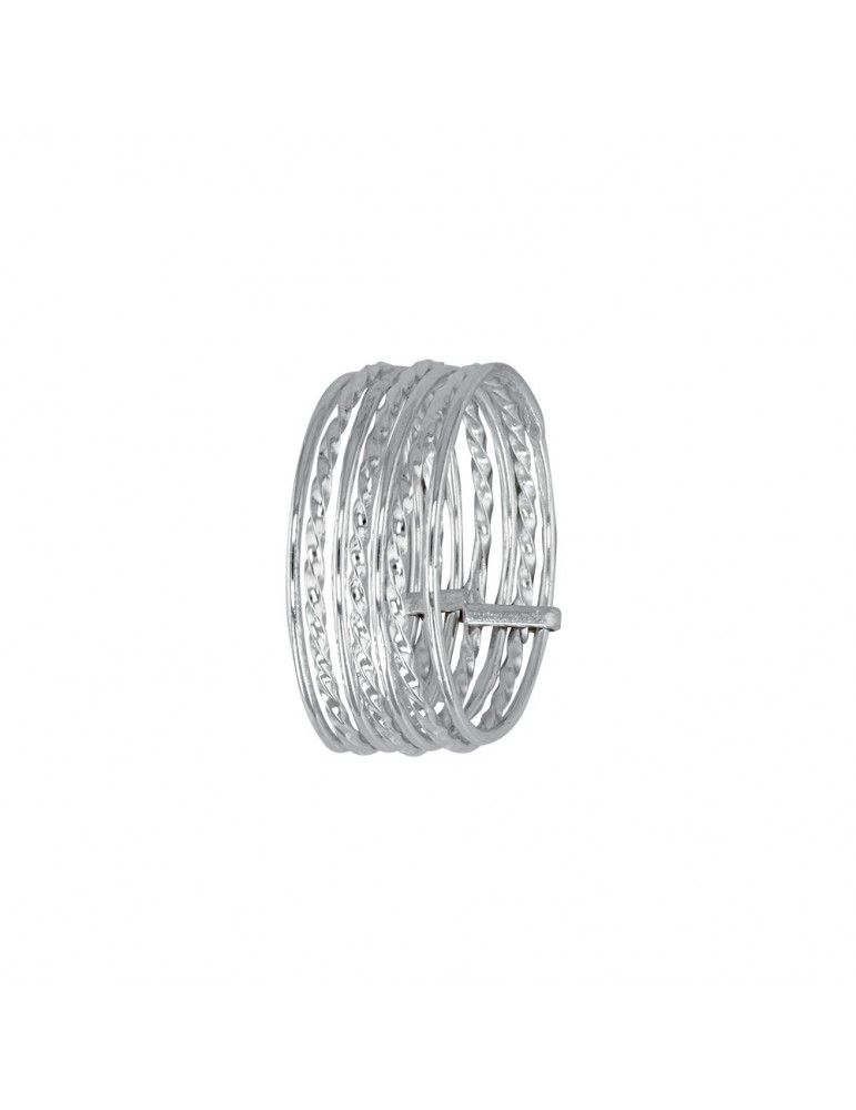 Ring 7 fine rings in sterling silver 311573 Laval 1878 49,90 €