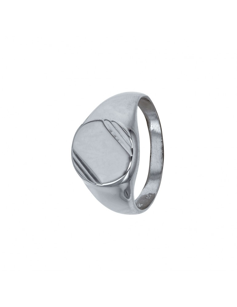 Round rhodium silver ring 311013 Laval 1878 92,00€