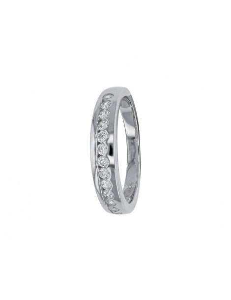 Alliances with oxide row surrounded by rhodium silver 311349 Laval 1878 59,00€