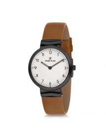 Montre femme Daniel Klein avec bracelet en cuir marron 69,90€ 69,90€