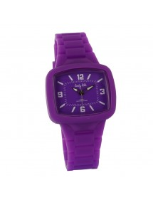 Montre silicone confortable Lady Lili - Violet 29,90€ 29,90€