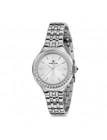 Daniel Klein Premium Damen Silber Uhr weißes Zifferblatt DK11703-1 Daniel Klein 99,00€
