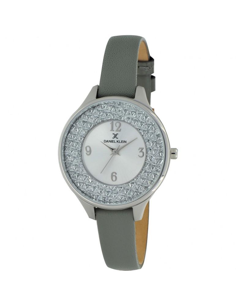 seleziona per il meglio Prezzo di fabbrica 2019 rivenditore di vendita Daniel Klein attuale orologio da donna alla moda in vera pelle