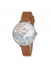 Daniel Klein floral design watch with brown leather strap DK11657-4 Daniel Klein 69,90 €